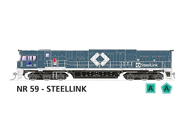 NR SOUND LOCOMOTIVE NR59 SteelLink #507 NEW SDS MODEL NR WITH SOUND