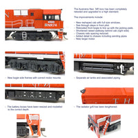 NR SOUND LOCOMOTIVE NR75 The GHAN Mk2 #514 NEW SDS MODEL NR WITH SOUND