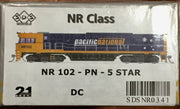 NR102 dc Powered SDS NEW TOOLING BODY OF NR Class NR102 PACIFIC NATIONAL 5 STAR # 342 *