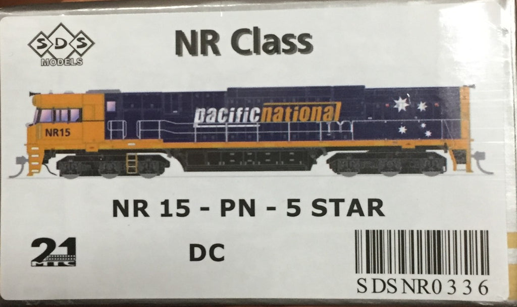 NR SDS NEW TOOLING BODY OF NR Class  NR 15 PACIFIC NATIONAL 5 STAR DC POWERED. RRP $295.00 ea