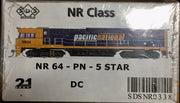 NR SDS NEW TOOLING BODY OF NR Class  NR 64 PACIFIC NATIONAL 5 STAR DC POWERED. RRP $295.00 ea