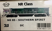 NR SDS NEW TOOLING BODY OF NR Class  NR 85 SOUTHERN SPIRIT DC POWERED. RRP $295.00 ea