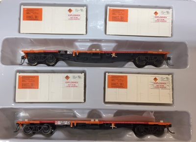 SDS Models: NSWGR: ICX 004 NSPF ORANGE WITH EXPLOSIVES CONTAINERS Twin Pack C,
