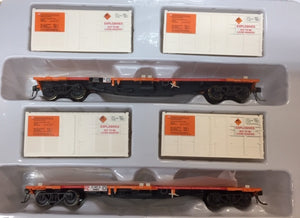 ICX 004 NSPF SDS Models : WAGONS ORANGE WITH EXPLOSIVES CONTAINERS Pk ICX 004 Twin Pack C,