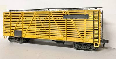 O SCALE ATLAS USA CATTLE FREIGHT WAGON #O-111 SECOND HAND MODEL.