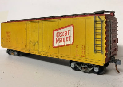 O SCALE ATLAS USA CATTLE FREIGHT WAGON #O-112 SECOND HAND MODEL.