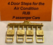42 Steps for NSWGR Passenger Air Condition RUB Cars. Ozzy Brass #42 Ozzy Brass