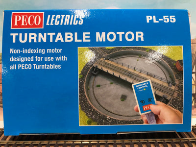 PL-55 TURNTABLE MOTOR HO PECO MODELS