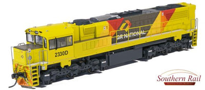 QR HO (16.5 mm) 2300 CLASS Q237 QRN BANANA LIVERY #2330D - MAXI CAB/TOILET END. SERIES 3 + With DCC & SOUND