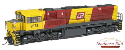 QR HO (16.5 mm) 2300 CLASS Q242 - BRONCOS  #2373 - SERIES 2 - MESH GRILL+ With DCC & SOUND