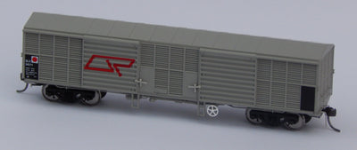QR Wuiske Models: RTR004: HO-16.5 mm- HO-SET 4 : QLX BOX WAGON pack of 3 wagons