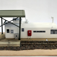 TS6 Southern Rail : TRACKSIDE MODELS & ACCESSORIES: – LOCO REFUELING DEPOT BUILT MODEL.