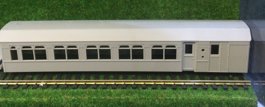 HR: Casula Hobbies : NSWGR Kit of the HR model type-4 of R car set Passenger Terminal Brake Van HO Scale Model Railway Kits.