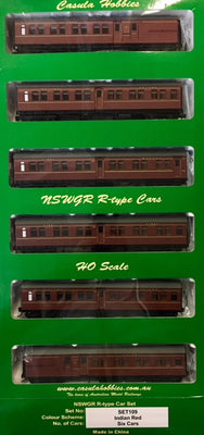 006 R Type Casula Hobbies: Set 109 INDIAN RED