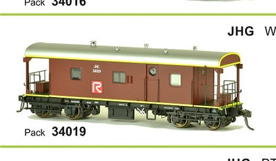 RRP $125 Save $26!!! : JHG SDS Models: Guards Van: JHG Red R: Pack 34019