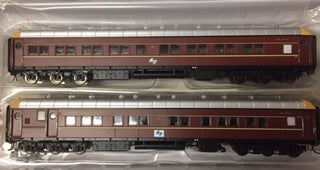 On Track Models: SI201A NSWGR Supplementary Interurban Car MFH2705 & MFA2712 DEEP INDIAN RED