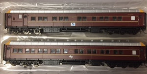 SI-201b On Track Models: MFH2707 & MFA2714 NSWGR Supplementary Interurban Two Car Set DEEP INDIAN RED WITH L7 LOGO 70's/80's