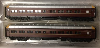 On Track Models: SI202c NSWGR Supplementary Interurban Car MFH2712 & MFA2714 DEEP INDIAN RED