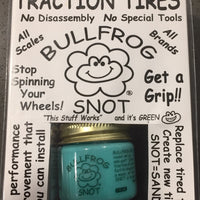 BULLFROG SNOT: TRACTION TIRES