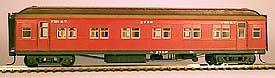 Steam Era Models - R15 AW PASSENGER CAR KIT (THE PICTURE IS THE FINISHED MODEL)