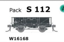 SDS Models: - S 112  W16168 WAGON - DISC WHEELS, NO BUFFERS Single PACK.