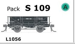 SDS Models: - S 109  L1056 WAGON  - - DISC WHEELS, NO BUFFERS Single PACK.