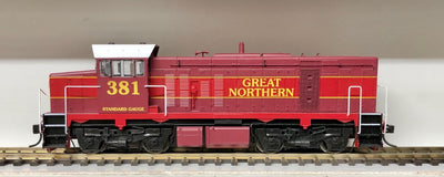 T Class - Austrains: T381 GREAT NORTHERN LOCOMOTIVE HO
