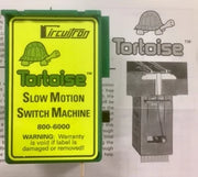 "Tortoise Slow Motion Switch Machine (point Motors) ""Circuitron"" #800-6000"