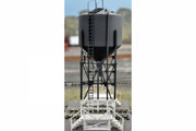 TS7 Southern Rail :  TS7 – NSWGR SANDING TOWER TS7 SANDING TOWER DIMENSIONS: L10cm x W10cm x H16.5cm  The sanding tower is very common in many locomotive depots throughout NSW, including Bathurst, Cootamundra & Lithgow