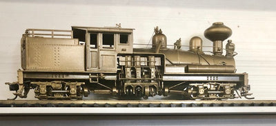 "BRASS MODELS SHAY MICHIGAN II Steam Logging Pacific Fast mail ""United Scale Models Ref,20920 **"