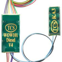 TCS #1533 WOW101-KA DIESEL SOUND DECODER