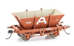 Phoenix: POH-1 PRIVATE OWNER COAL L HOPPERS (10 WAGON PACK)