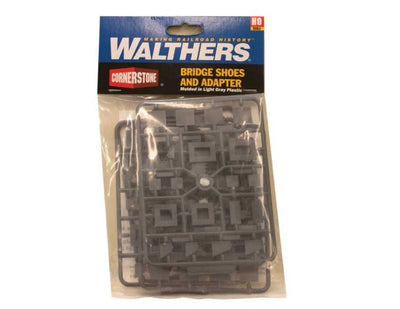 WALTHERS: Bridge Shoes and Adapter #933-4559 HO