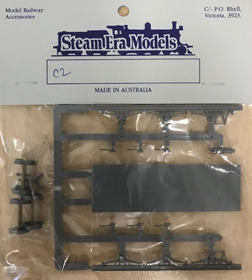 Stream Era Models -C2 6 Wheel Underframe