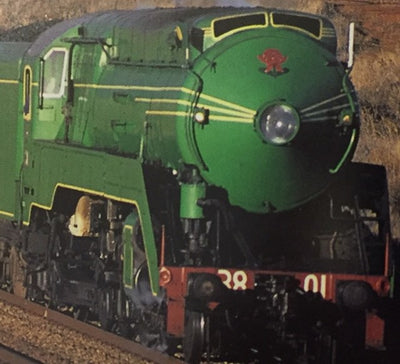 C3801 GREEN NON SOUND Pre-orders/price lay-by welcome Eureka Models Streamlined Steam Locomotive DC non sound of the NSWGR Approx delivery Jan-Feb 2020