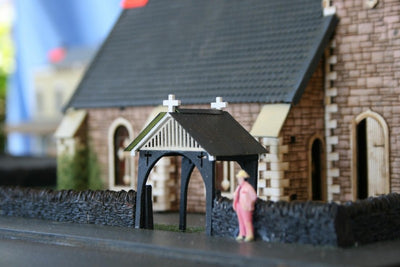 M00045 Church Lytch Gate laser cut kit