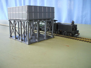 M00097 Wooden Stand kit for Silvermaz lineside Water Tank kit. tank not included