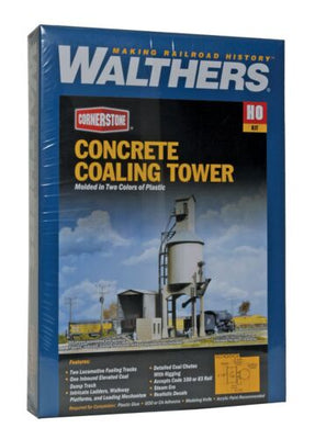 WALTHERS: Concrete Coaling Tower KIT #933-3042 HO
