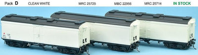 RRP $198 Save $60: SDS Models: NSWGR: MRC Ice Chilled Wagon: Pack D: Clean White
