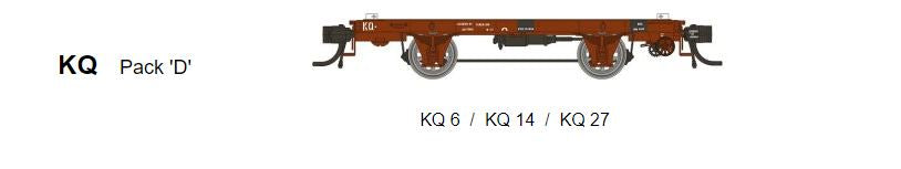 SDS Models: Victorian Railways: KQ Container Wagon: Pack D