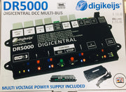 digikeijs DR5000 DIGICENTRAL DCC MULTI BUS (OUT OF STOCK BACK IN STOCK AROUND 8 WEEKS