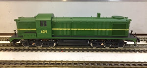 4019 Eureka Models 40 Class Locomotive Diesel GREEN with DCC SOUND of the NSWGR