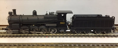 5271 Eureka Models D5271 NON SOUND D50 Class Superheated Steam Locomotive North British Black weathered of the NSWGR
