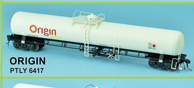 GAS SDS Models: ORIGIN ENERGY: LPG Rail Tank Car PTLY 6417 : Single Pack #012
