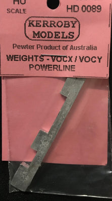 Kerroby Models - HD 89 - Weighs - VOCX/VOCY Powerline