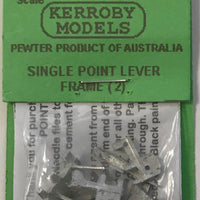 Kerroby Models:  HDS13 - Single Point Lever Frame (2)
