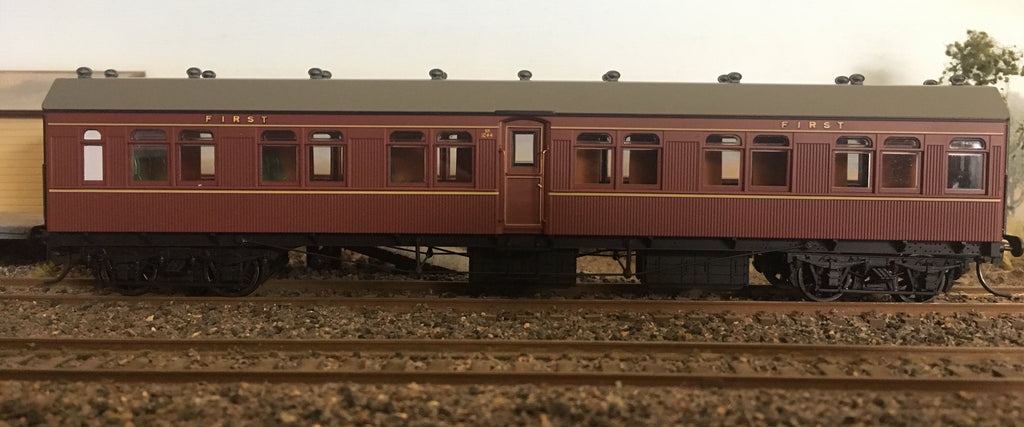 "Casula Hobbies: BR 1044 Indian Red Single Car ""R"" type Independent car."