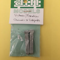 AM Models Decal HO: Victoria/Federation Chimes or Gateposts