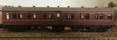 BR - RRP $150 save $15: BR 1st CLASS PASSENGER CAR INDIAN RED FROM THE R Type Sets Casula Hobbies: RTR* Unumbered