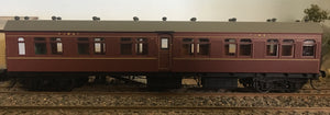 BR - RRP $155 save $20: BR 1st CLASS PASSENGER CAR INDIAN RED FROM THE R Type Sets Casula Hobbies: RTR* Unumbered